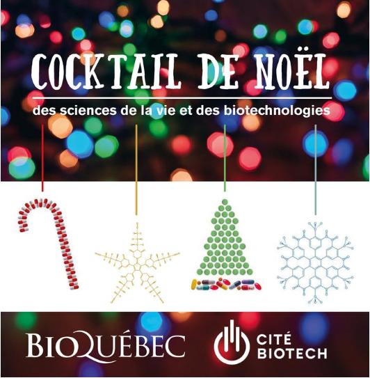 Cocktail 2019 de la Cité de la Biotech et BIOQuébec